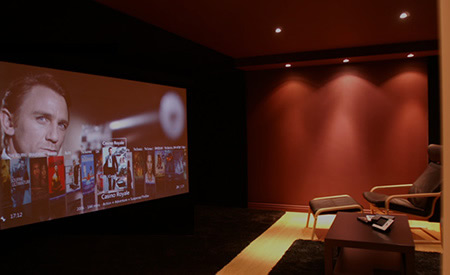 Home Cinema Demonstration Room
