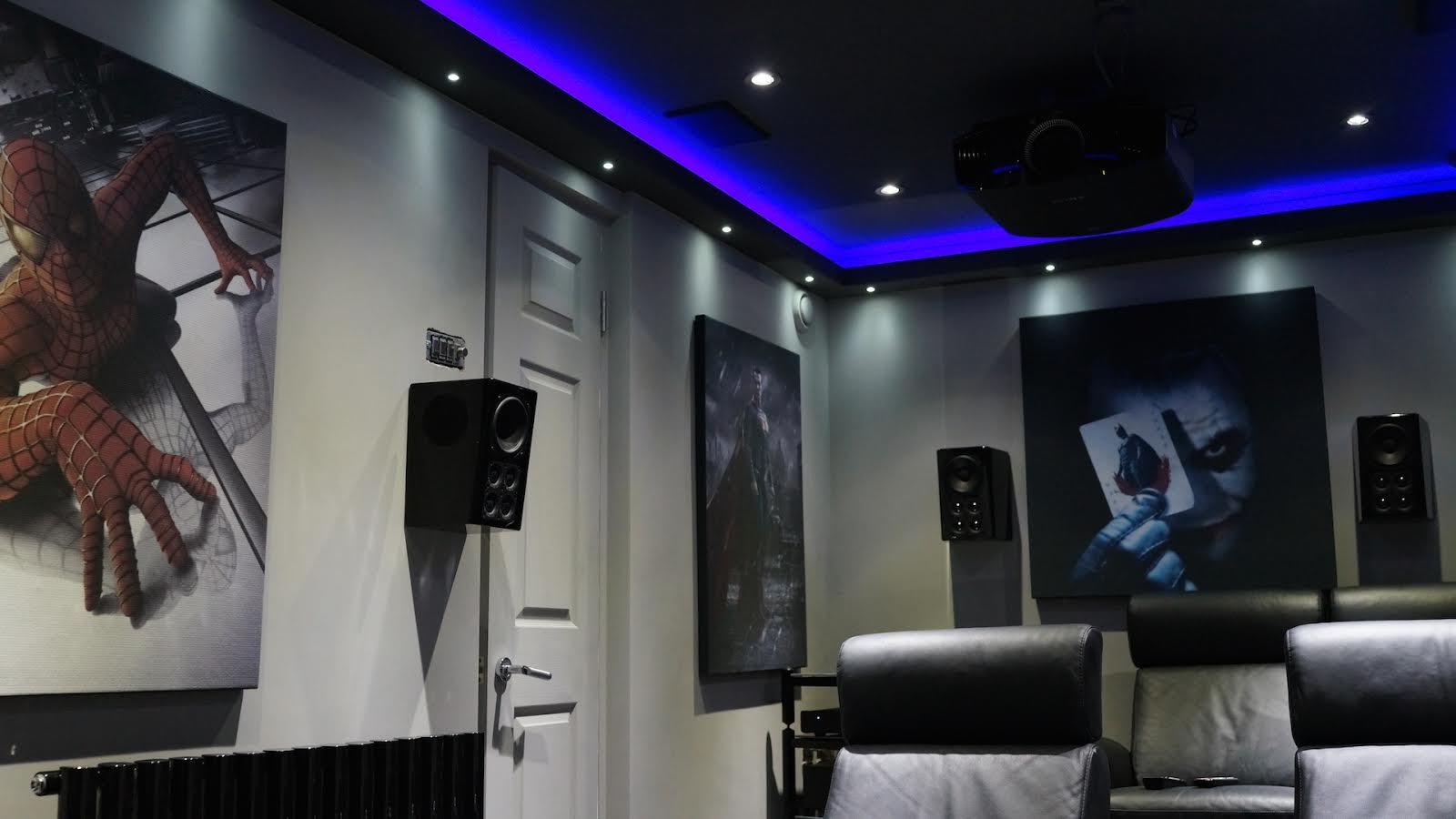 home cinema installation ideal av home cinema. Black Bedroom Furniture Sets. Home Design Ideas