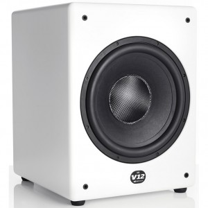 MK Sound-V12-Subwoofer white