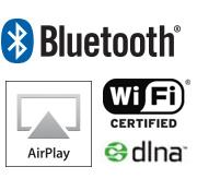 Marantz-tech-logos