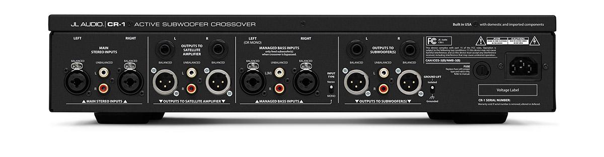 Jl Audio Cr1 Crossover Unit Ideal Av Home Cinemarhidealavcouk: Jl Audio Crossover At Gmaili.net