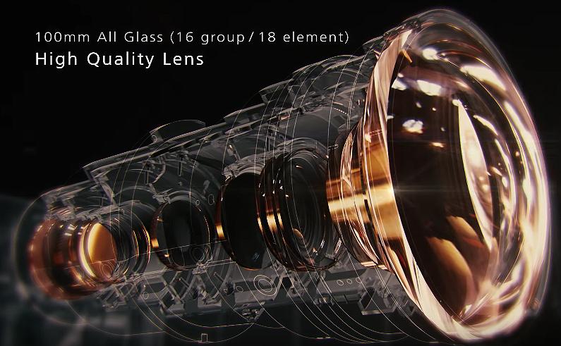jvc new 100mm lens